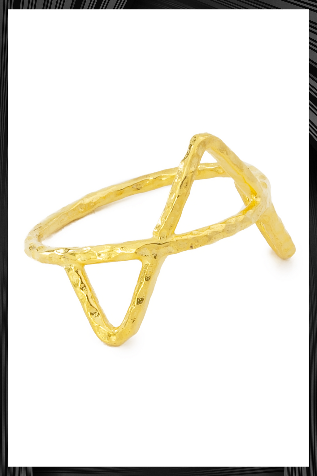 Gold Ziggy Ring | Free Delivery - Quick Shipping