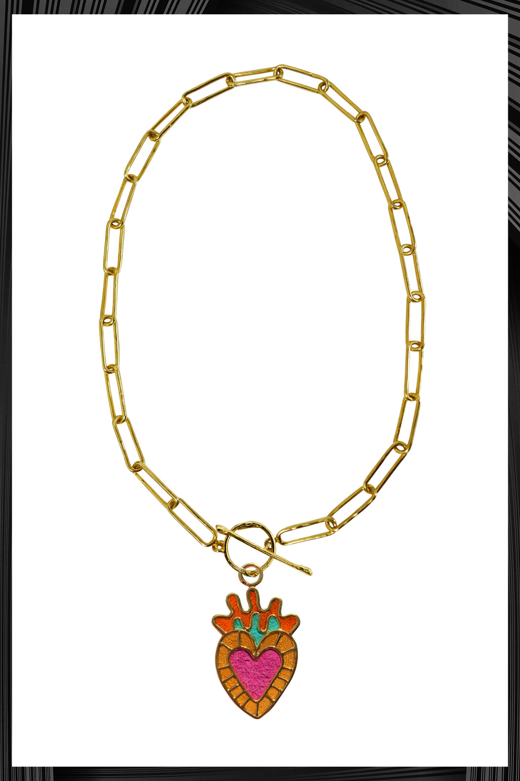 Milagritos Amarillos Thin Chain Necklace | Free Delivery - 3 Week Shipping
