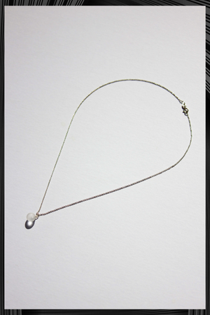 Matte Solo Sphere Short Necklace | Free Delivery - 3 Weeks Shipping