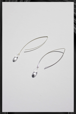 Small Sphere Stream Earrings | Free Delivery - 3 Weeks Shipping