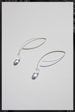 Large Sphere Stream Earrings | Free Delivery - 3 Week Shipping