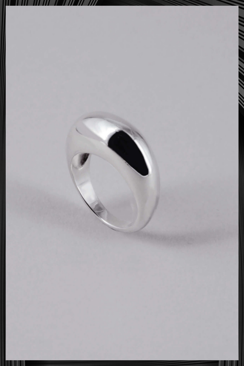 Silver Statement Ring | Free Delivery - 4-5 Week Shipping