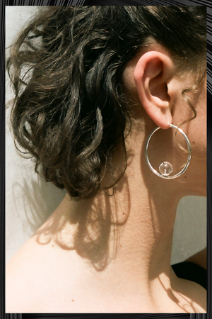 Circle Large Hoops | Free Delivery - 3 Week Shipping