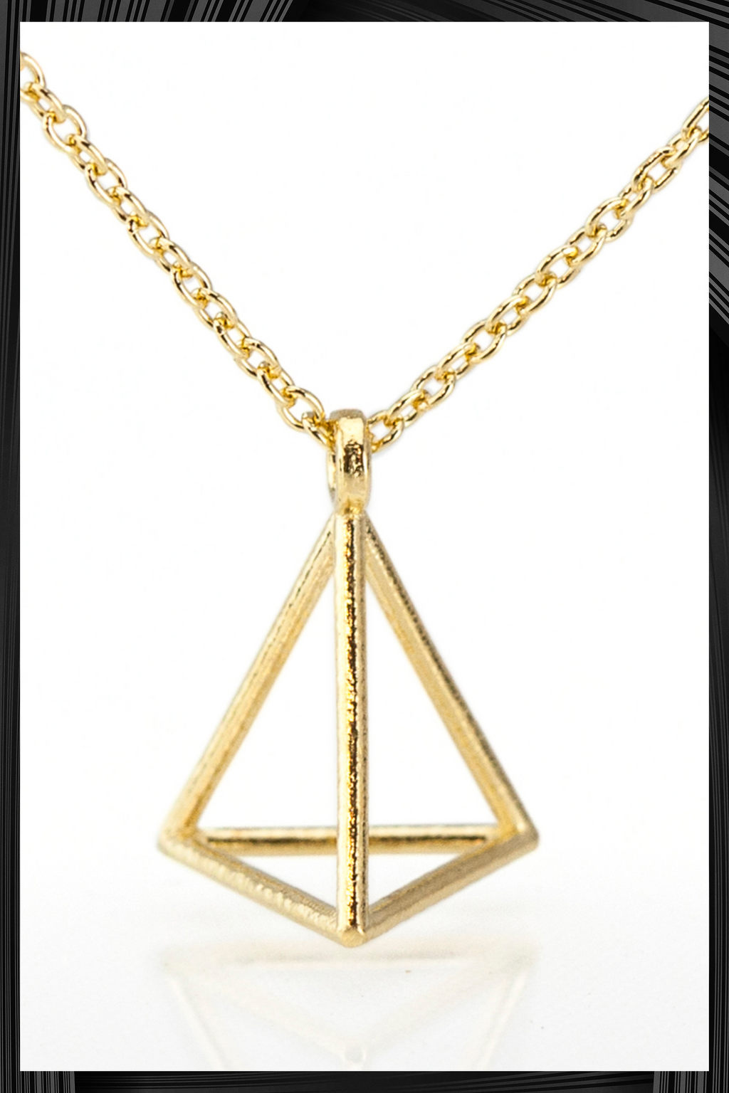 Petite Triangle Necklace | Free Delivery - Quick Shipping
