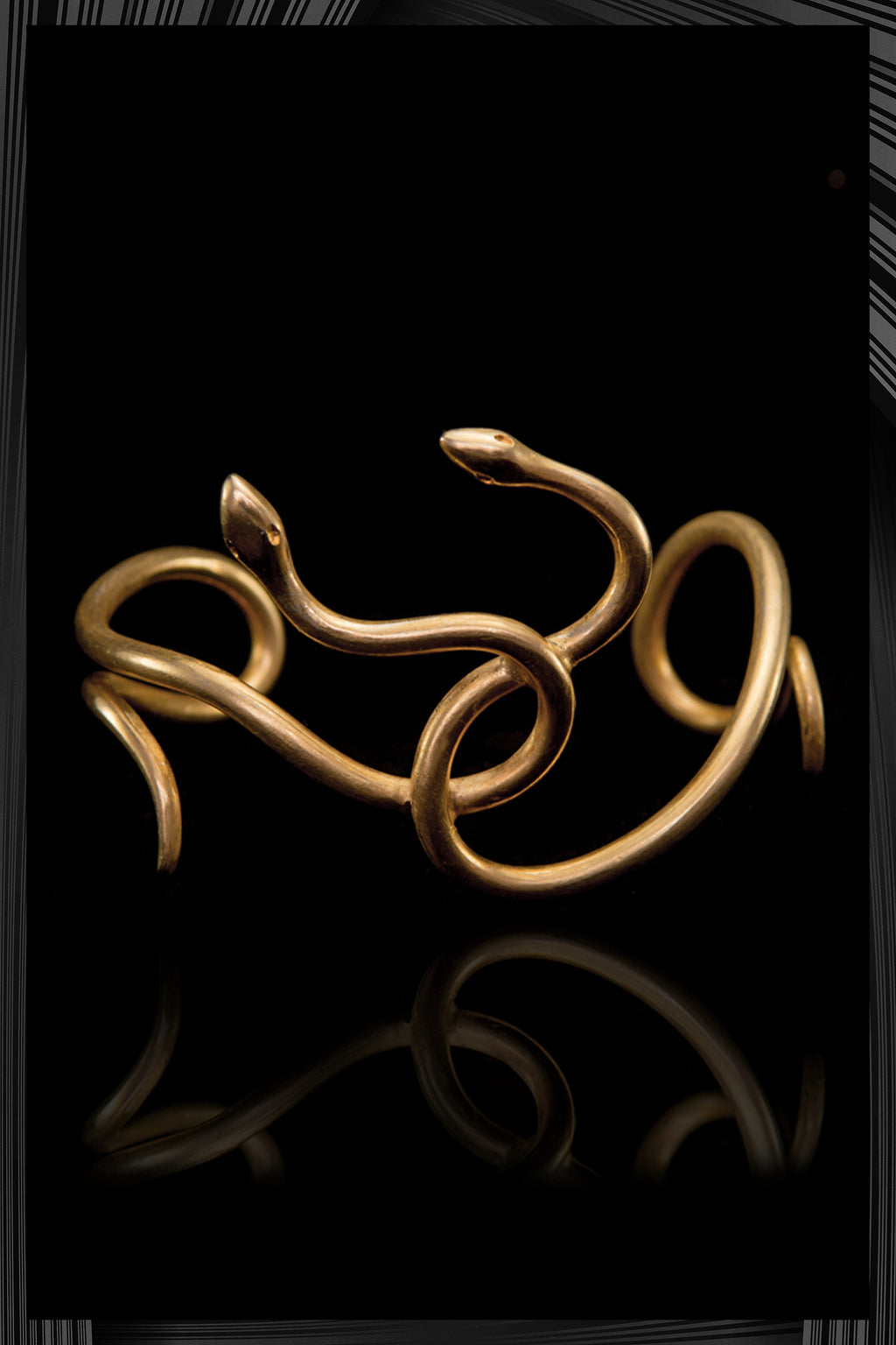 Two Snakes Bracelet | Free Delivery - Quick Shipping
