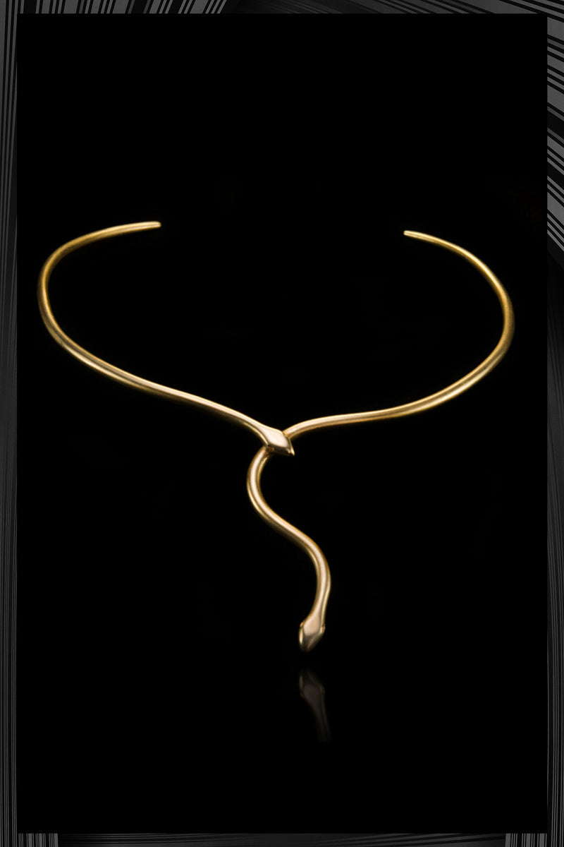 Snake Tie Necklace | Free Shipping - Quick Delivery