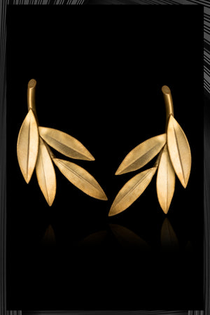 Olive Leaf Earrings | Free Delivery - Quick Shipping