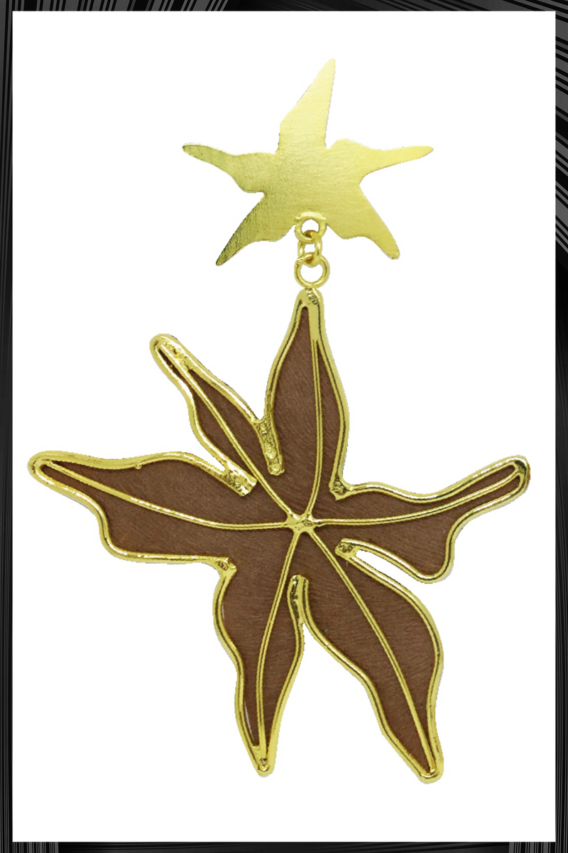 Nude Starfish Earrings