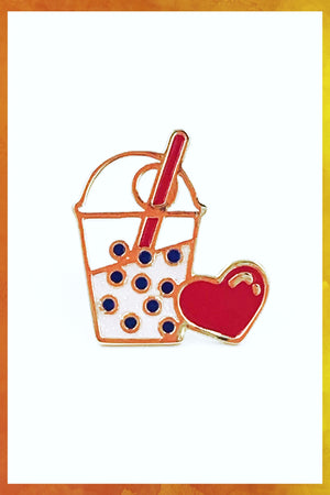 Bubble Tea Pin