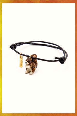 Squirrel Charm Bracelet - Only 1 Left!