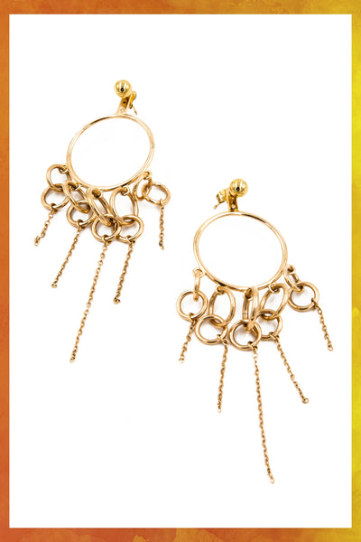 Hula Hoops 8 Earrings