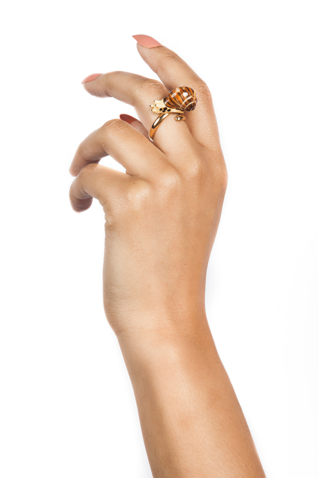 Gold Snail Ring