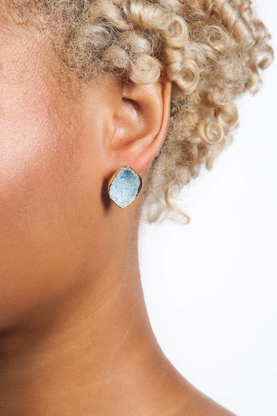 Light Blue Cove Earrings