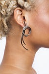 Venus Large Knot Post Earrings