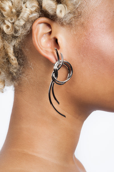 Venus Large Knot Earrings