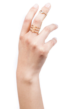 Beatriz Palacios Full Finger Ring Articulated Ring