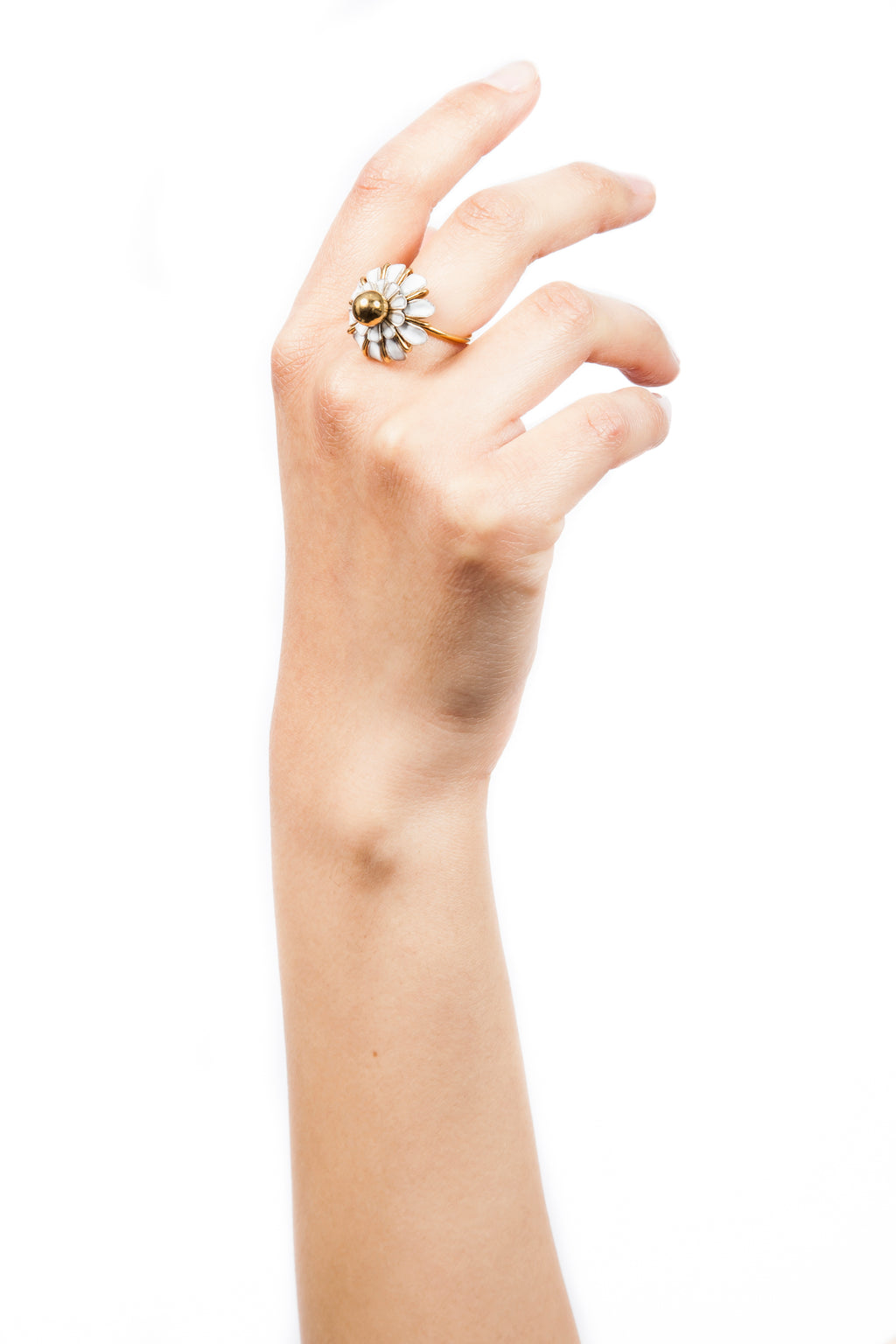 Iris Trends Daisy Enamel Ring by Beatriz Palacios Spain