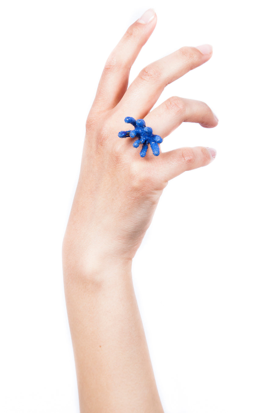 9 Branch Coral Ring