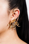 Chemical Fire Earrings