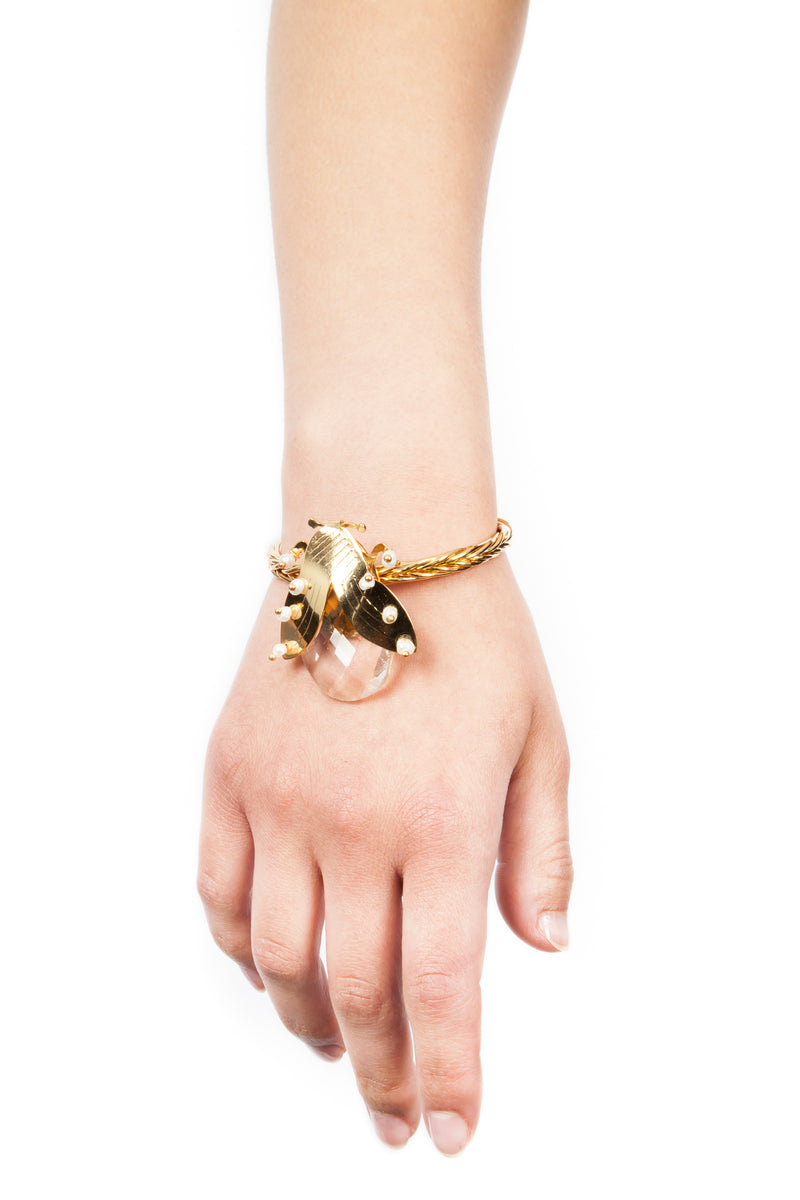 Iris Trends Bug Bracelet by Crisobela Columbia