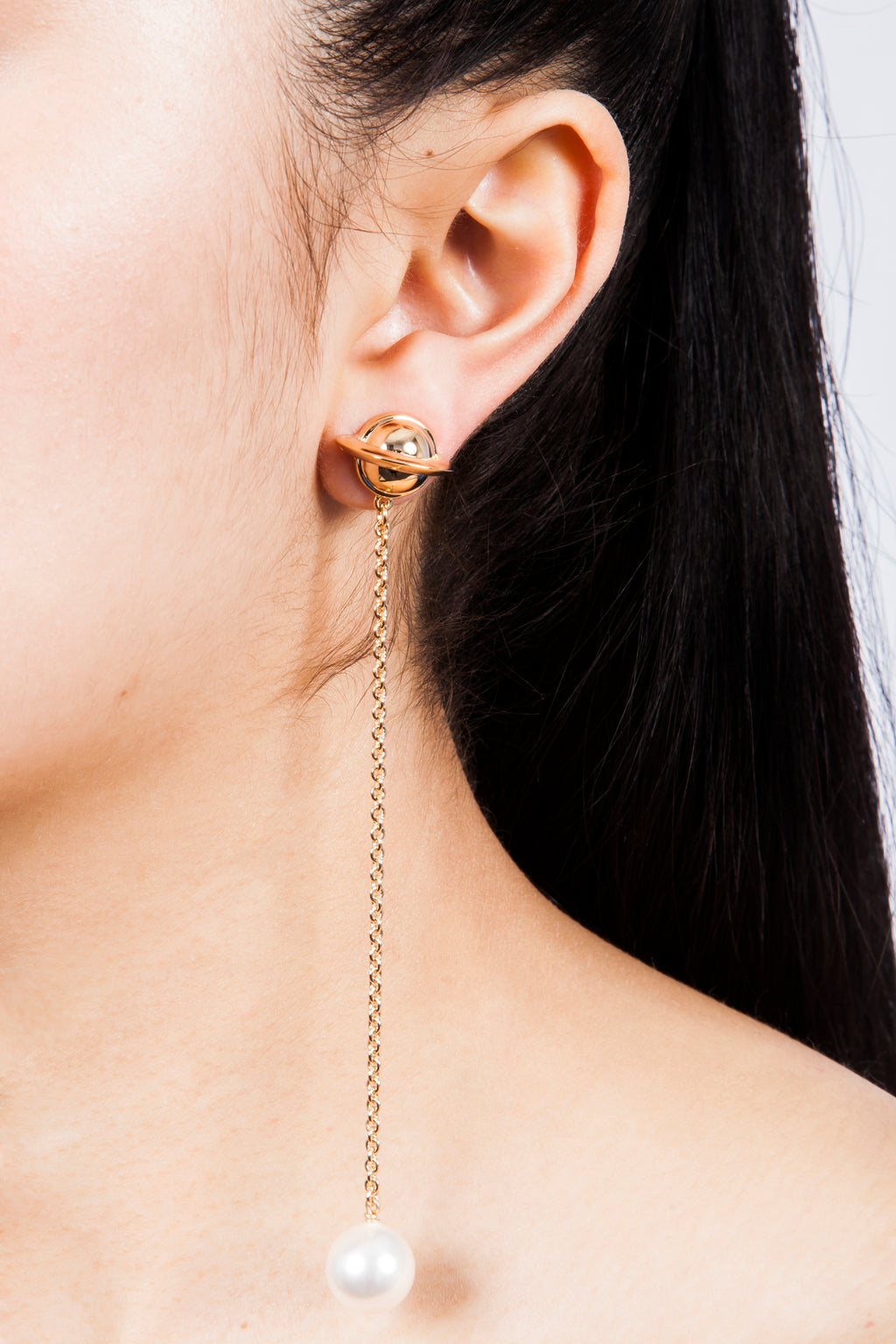 Iris Trends Astro 27 Long Earrings by Eshvi London
