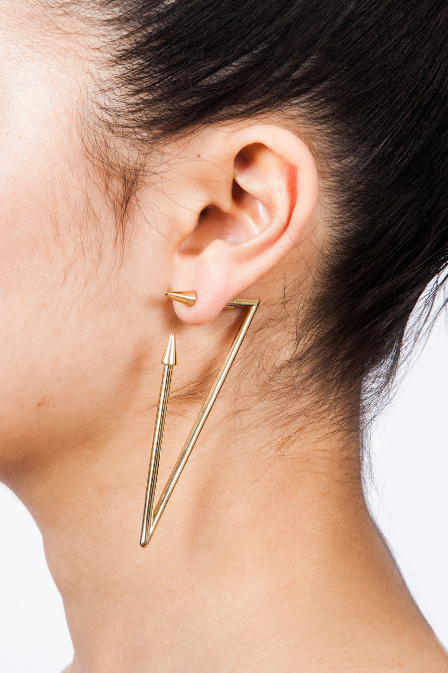 Gold Geometrics Earrings