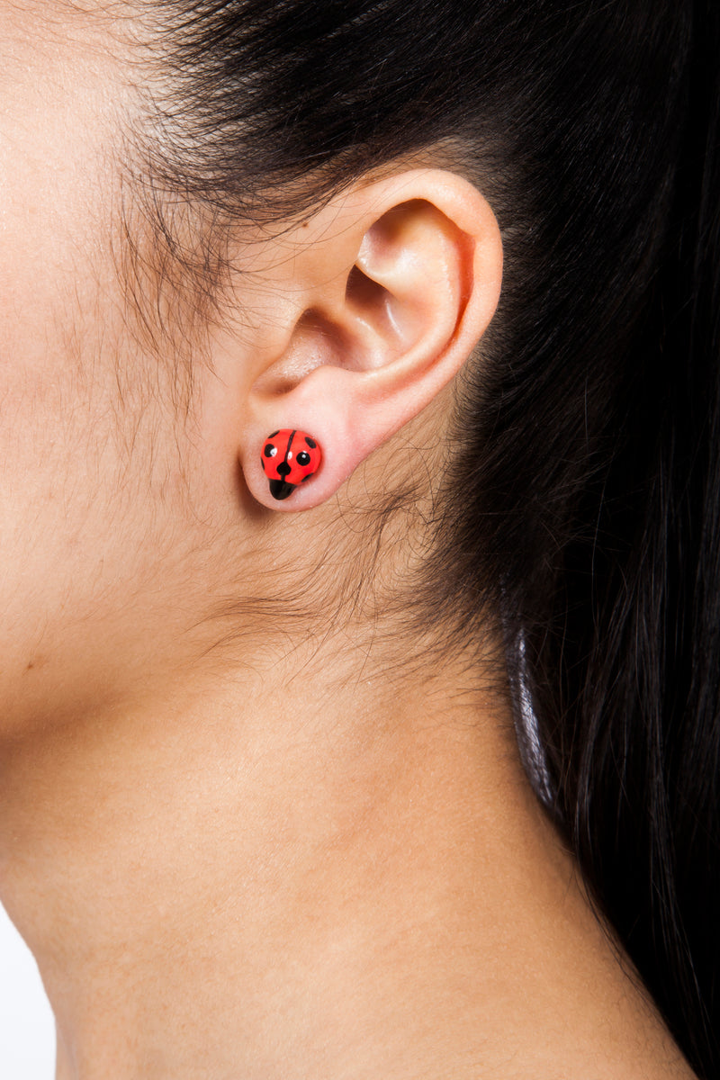 Ladybug Earrings | Free Delivery - Quick Shipping