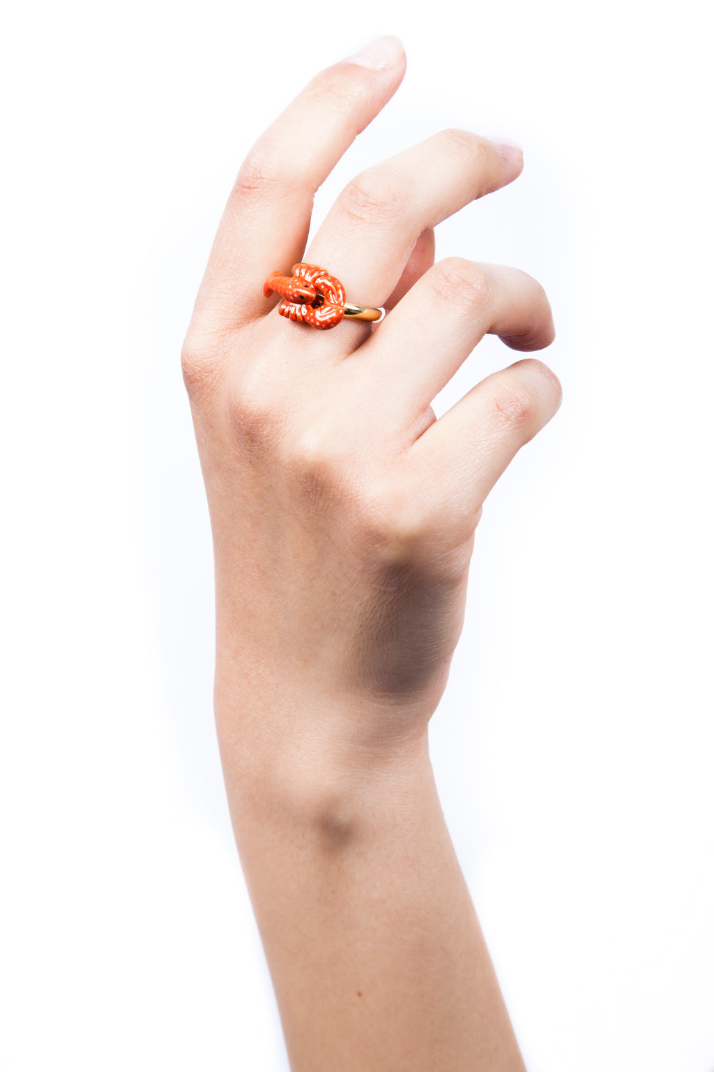 Lobster Gold Ring