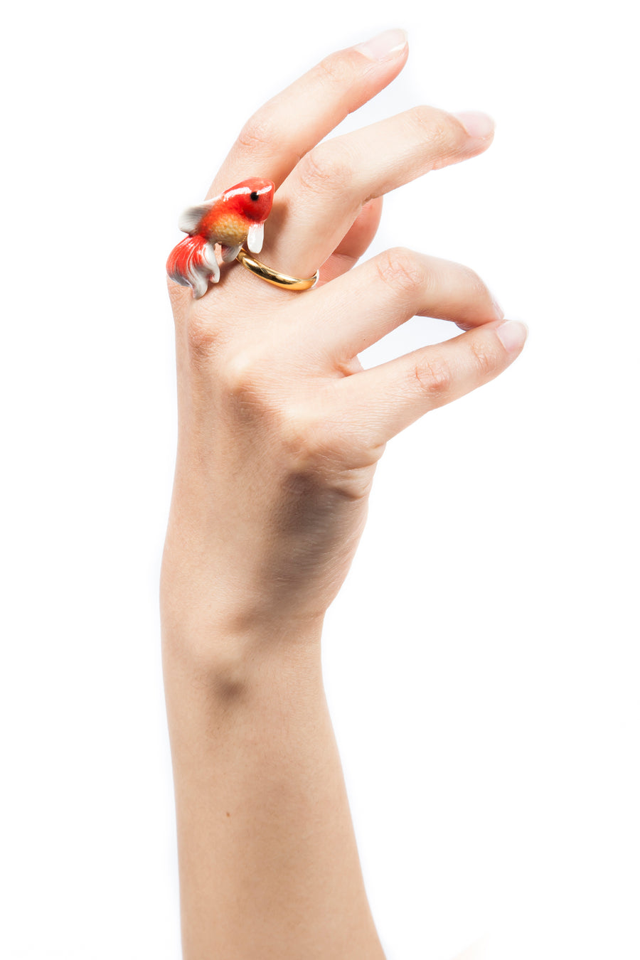 Goldfish Gold Ring
