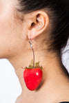 Strawberry Earrings Fruit Jewelry