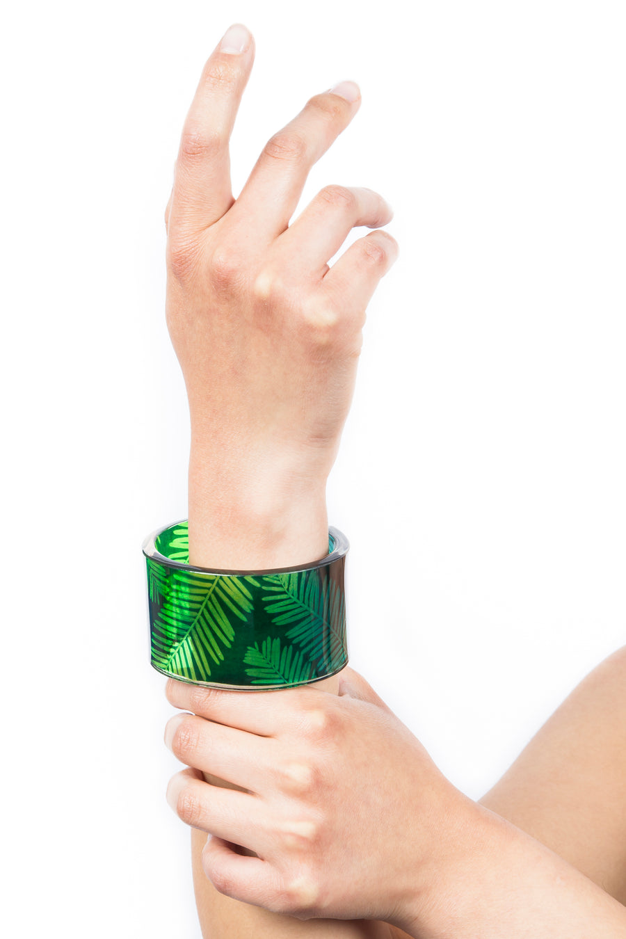 Green Dip Conifer Cuff