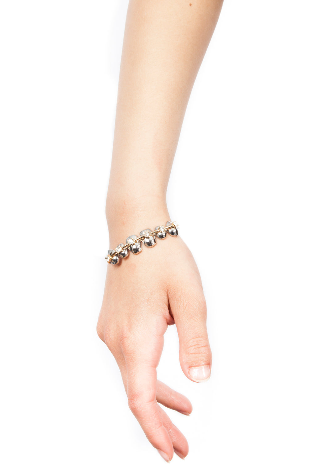 Palladium Brackets Bracelet | Free Delivery - Quick Shipping