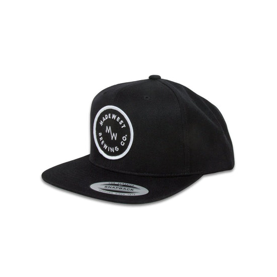 Circle Patch Hat - Black