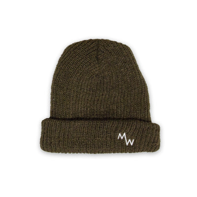 Woodsman Beanie - Army Green
