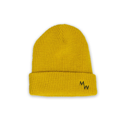 Woodsman Beanie - Mustard Yellow