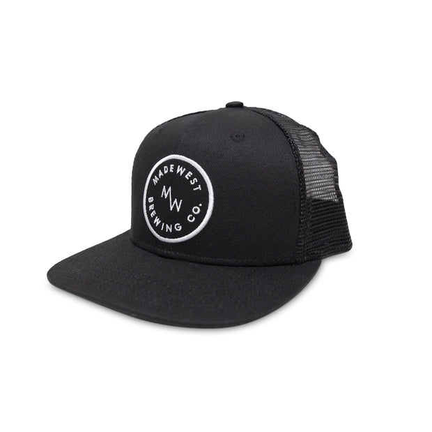 Circle Patch Trucker - Black