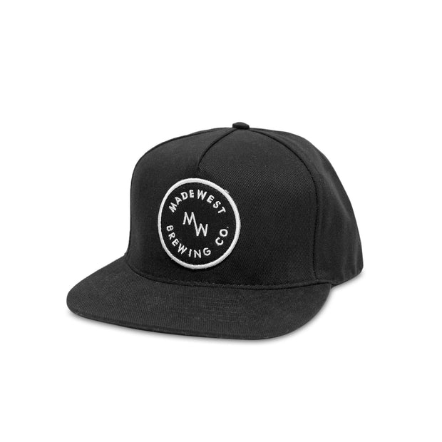 Circle Patch Hat - Black Bull Denim - Hat - MadeWest Brewery