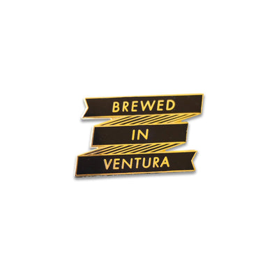 Brewed in Ventura Pin