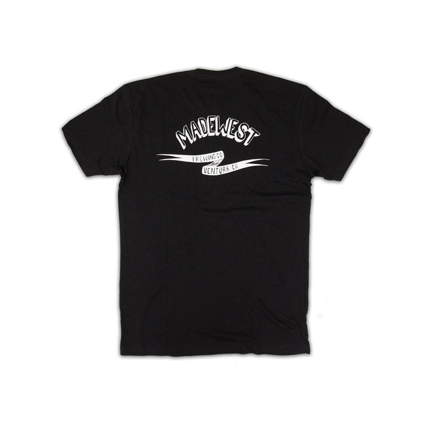 Flying Can Tee - Black - Men's T-Shirt - MadeWest Brewery