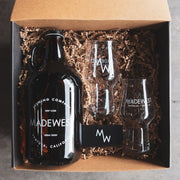Growler & Craft Glass Set