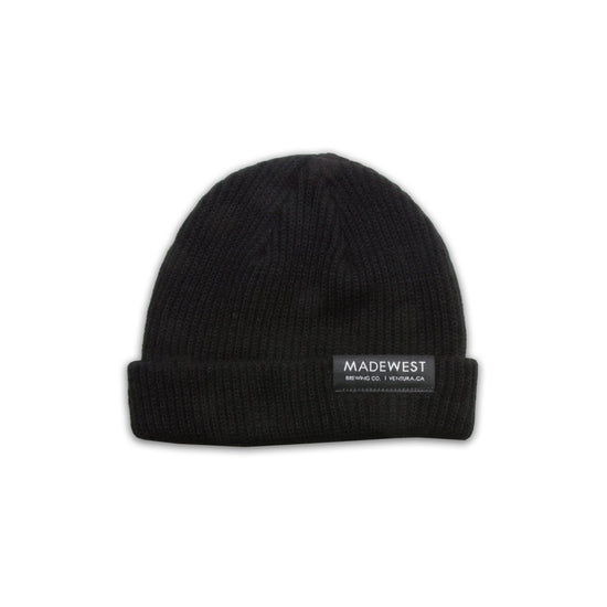 Dock Beanie - Black - Beanie - MadeWest Brewery