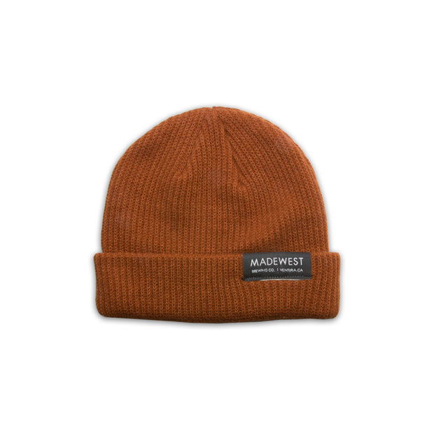 Dock Beanie - Texas Orange - Beanie - MadeWest Brewery