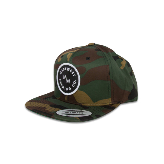 Circle Patch Hat - Camo - Hat - MadeWest Brewery