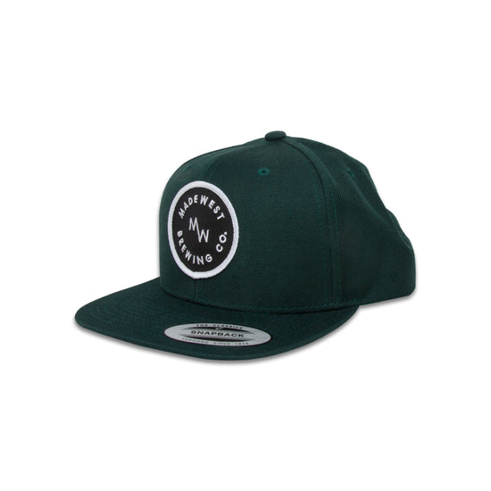 Circle Patch Hat - Green - Hat - MadeWest Brewery