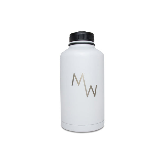 64oz Growler - White - Drinkware - MadeWest Brewery