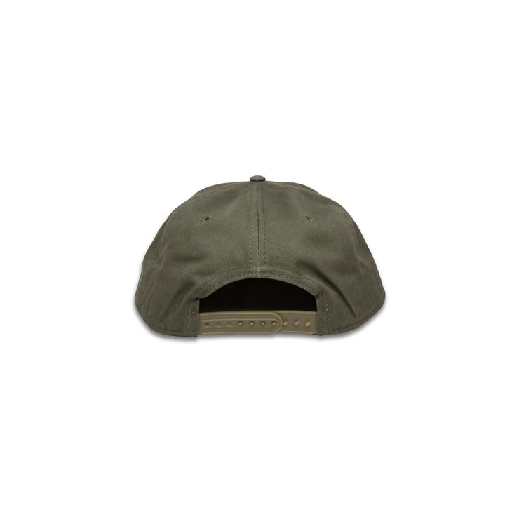 Kids Leather Patch Hat - Olive Green - Hat - MadeWest Brewery