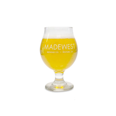 MadeWest Tulip Glass - 13oz - Drinkware - MadeWest Brewery