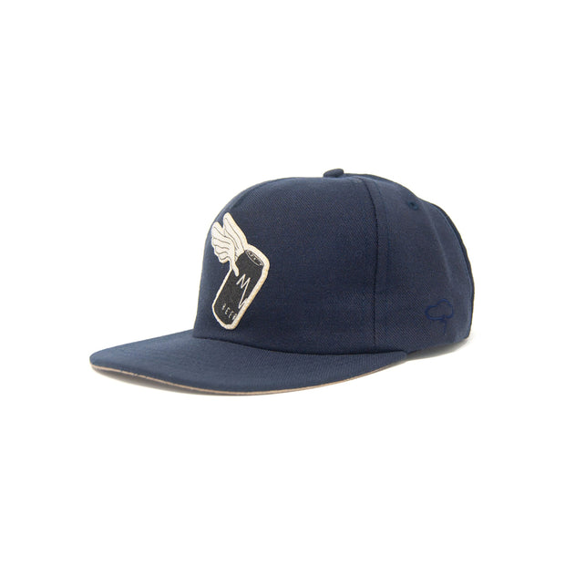 Ampal Flying Can Hat - Navy