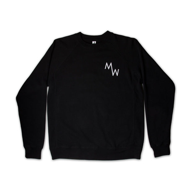 Classic Crew Fleece - Black - Men's Sweatshirt - MadeWest Brewery