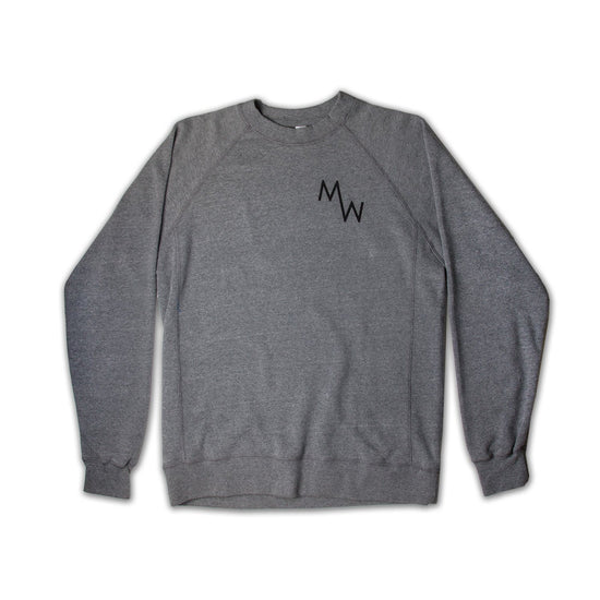 Classic Crew Fleece - Grey - Men's Sweatshirt - MadeWest Brewery
